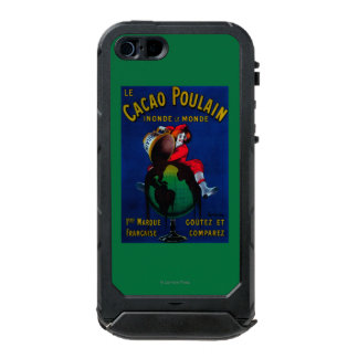 Cacao Poulain Vintage PosterEurope Waterproof iPhone SE/5/5s Case