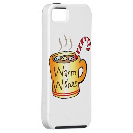 Cacao y caramelo iPhone 5 Case-Mate cobertura