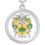 Caceres Family Crest Pendant