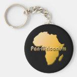 Cacerola-AFricanism #2 Llavero Redondo Tipo Pin