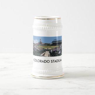 Cacerola del campo de Coors, ESTADIO de COLORADO Jarra De Cerveza