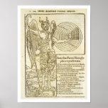 Cacerola, dios universal, y los elementos él repre póster