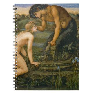 Cacerola y psique 1872 libro de apuntes