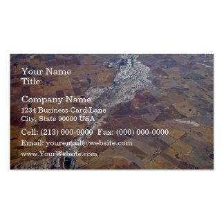 Cacerolas de la sal tarjetas de visita