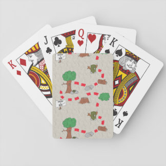 Cache Adventure Map Playing Cards