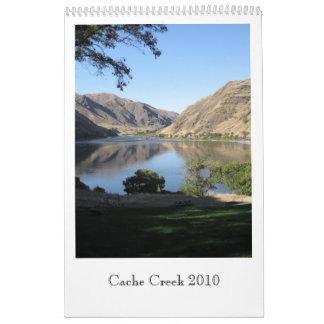 Cache Creek 2010 Calendario
