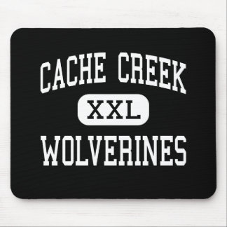 Cache Creek - Wolverines - High - Yolo California Mouse Mat