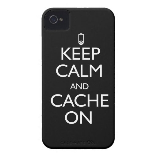 Cache On! iPhone 4 Cover