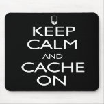 Cache On Mouse Pad