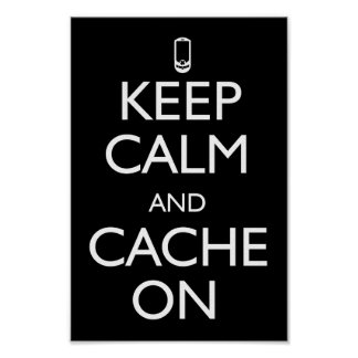 Cache On! Poster