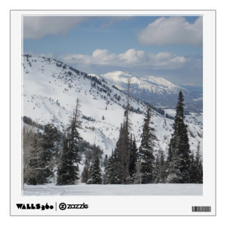 Cache Valley In Utah Wall Decal