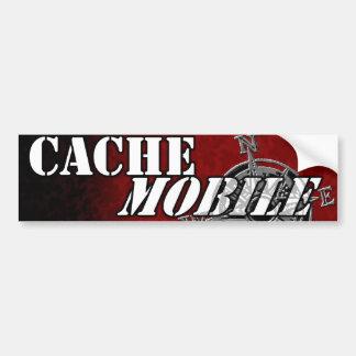 Cachemobile bumpersticker car bumper sticker