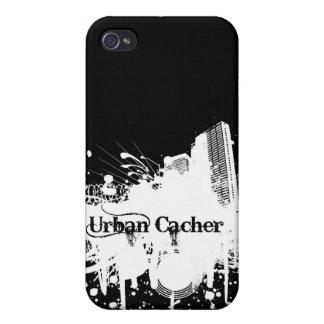 Cacher urbano iPhone 4 cárcasas