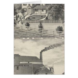 Cacheville res, Madison mill Card