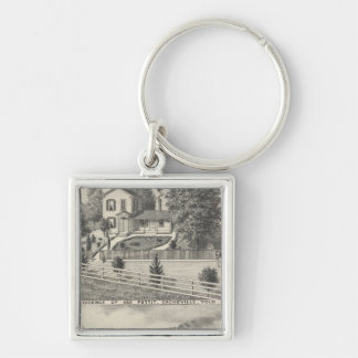 Cacheville res, Madison mill Keychain