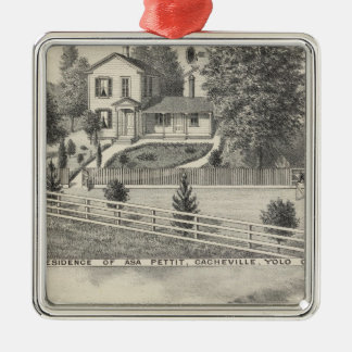 Cacheville res, Madison mill Metal Ornament