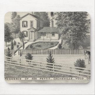 Cacheville res, Madison mill Mouse Pad