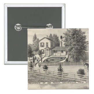 Cacheville res, Madison mill Pinback Button