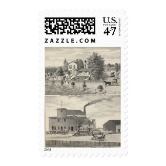 Cacheville res, Madison mill Postage Stamp