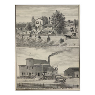 Cacheville res, Madison mill Poster