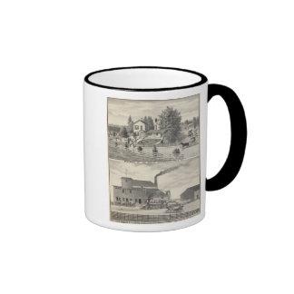 Cacheville res, Madison mill Ringer Mug