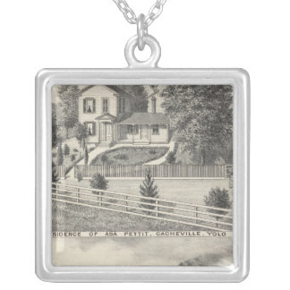 Cacheville res, Madison mill Silver Plated Necklace