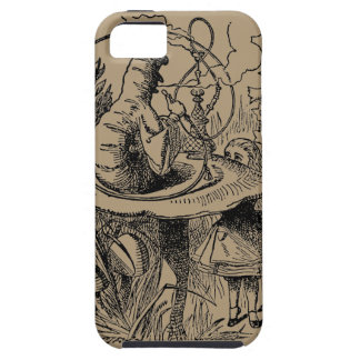 Cachimba del vintage que fuma Caterpillar con Alic iPhone 5 Cárcasa