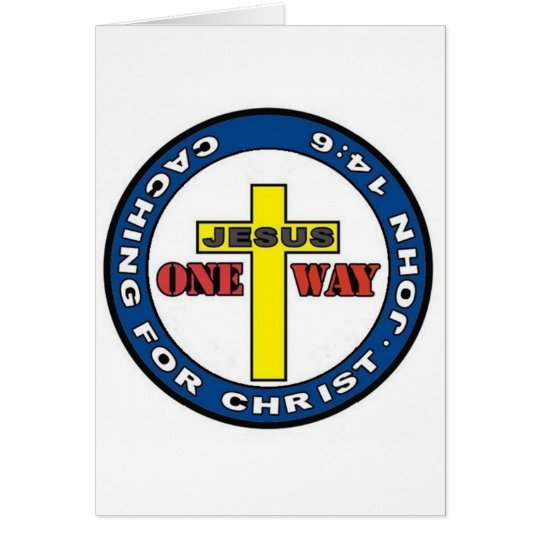 Caching for Christ Card