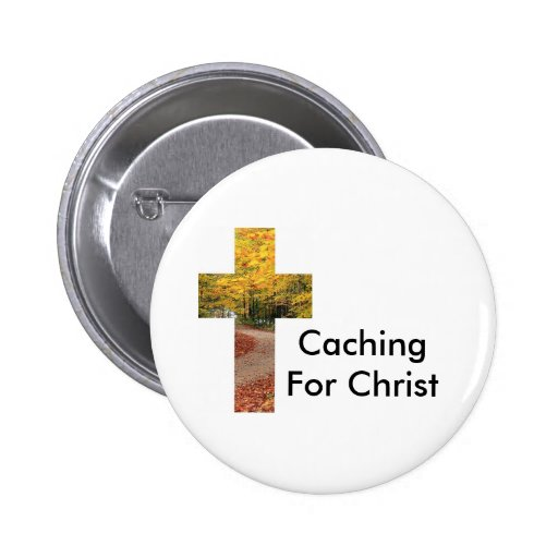Caching For Christ Geocaching Swag Pin