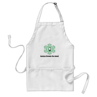 Caching Through The Snow Adult Apron