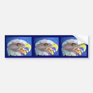 Cachinnating Eagle Bumper Sticker