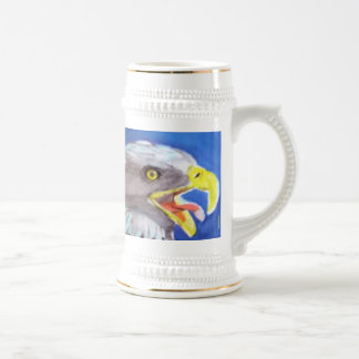 Cachinnating Eagle Coffee Mug