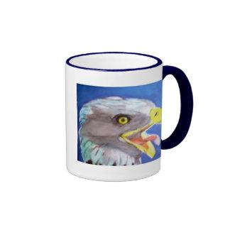 Cachinnating Eagle Coffee Mugs