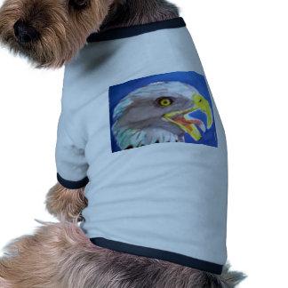 Cachinnating Eagle Dog T-Shirts Pet Tee