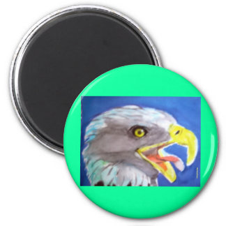Cachinnating Eagle Magnets
