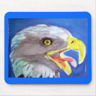 Cachinnating Eagle Mousepads