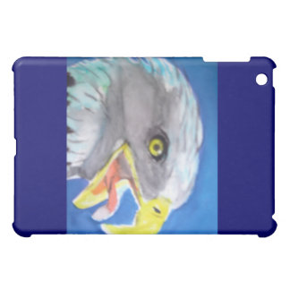 Cachinnating Eagle Watercolor iPad Cases