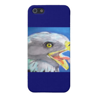 Cachinnating Eagle Watercolor iPhone Cases Cover For iPhone 5