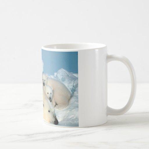 Cachorro 1 del oso polar taza
