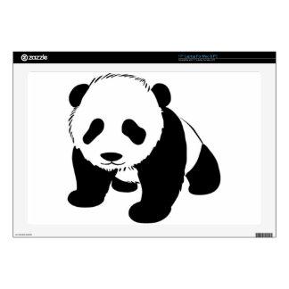 Cachorro de la panda del bebé que se arrastra skins para portátil