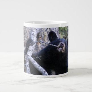 cachorro de oso negro taza grande