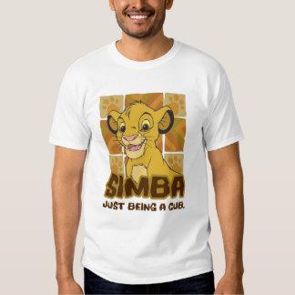 """Cachorro de rey Simba del león """"apenas que es un Polera"""