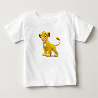 Cachorro de rey Simba del león que coloca Disney Remeras