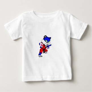 Cachorro de tigre azul t shirts