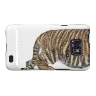 Cachorro de tigre de Sumatran 2 Samsung Galaxy S2 Fundas