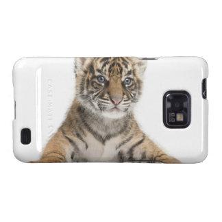 Cachorro de tigre de Sumatran Samsung Galaxy SII Carcasas