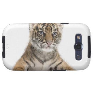 Cachorro de tigre de Sumatran - sumatrae del Tigri Galaxy S3 Cárcasa