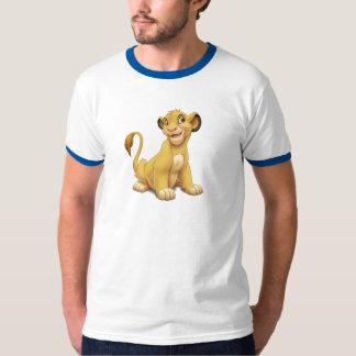 Cachorro Disney juguetón de rey Simba del león Camisas
