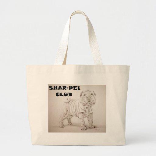 cachorro shar-pei bolsa