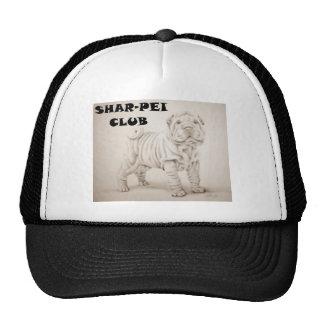 cachorro shar-pei gorra